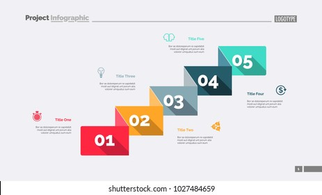 Five Business Components Slide Template