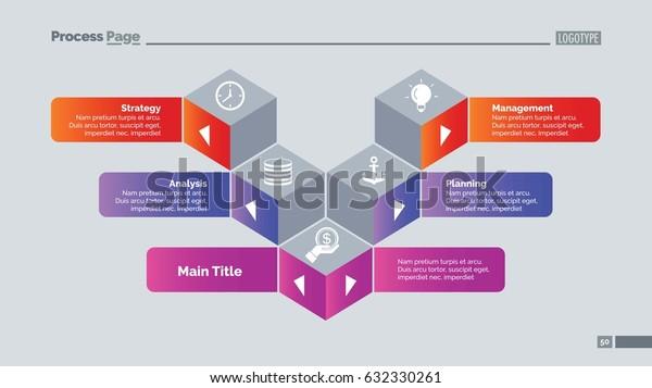 Five Cubes Slide Template