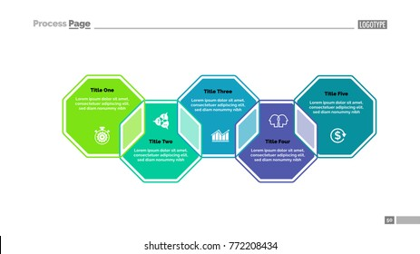Five Octagons Strategy Slide Template
