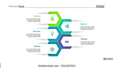 Five Options Plan Slide Template