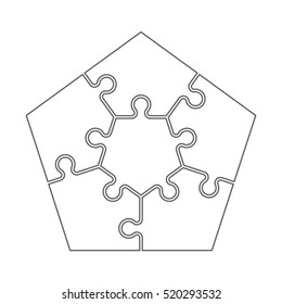similar images stock photos vectors of puzzle vector icon