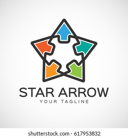 Five Star Arrow  Logo