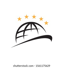 five stars quality world class icon logo vector illustrations eps.10