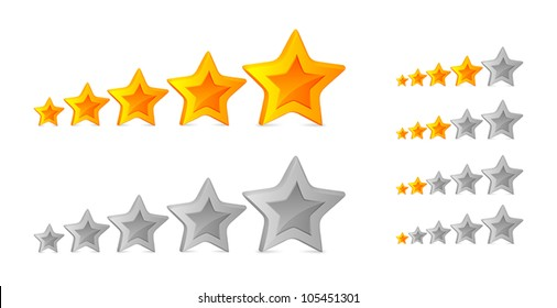 Five stars for ranking at forums and picture galleries.