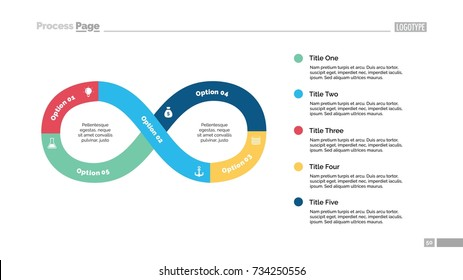 Five Steps Infinity Sign Slide Template