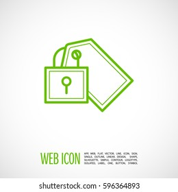 fixed bill isolated minimal icon. bill graph line vector icon for websites and mobile minimalistic flat design.