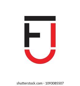 FJ letter logo