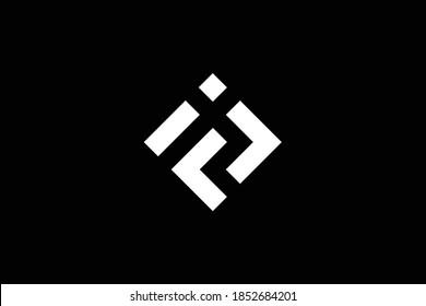 FJ letter logo design on luxury background. JF monogram initials letter logo concept. FJ icon design. JF elegant and Professional white color letter icon design on black background. J F