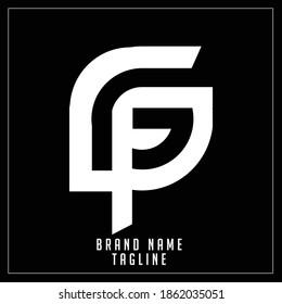 FL initials logo, name initials logo, company initials logo, person initials logo.