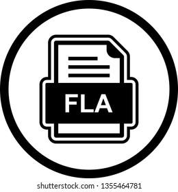 FLA File Document Icon