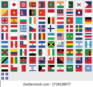Flag of All Countries in One Package