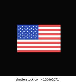 flag america design vector eps 10
