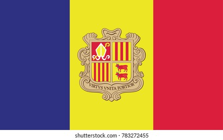 Flag of Andorra official