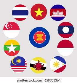 Flag of ASEAN and membership