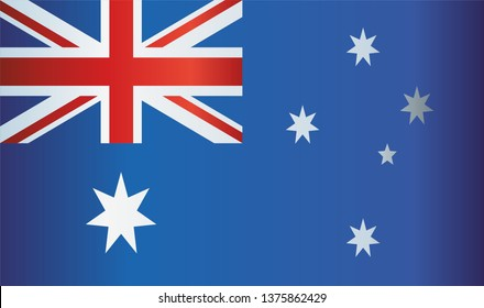 Flag of Australia, Commonwealth of Australia.