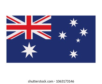 Flag of australia icon