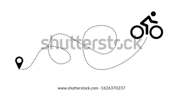 Flag Banner World Bicycle Day Race Stock Vector Royalty Free 1626370237