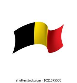 Flag of Belgium, Vector illustration