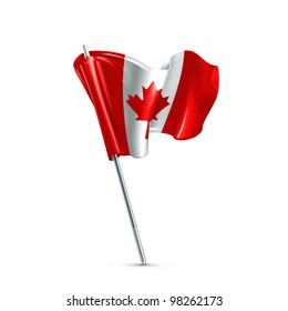 Flag of Canada, vector
