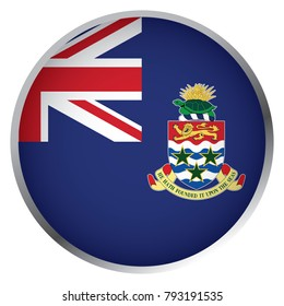 Flag of Cayman Islands (Round icon)