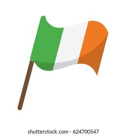 flag celebration saint patrick day