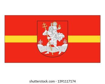 Flag of the City of Vilnius