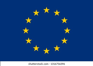 Flag correctly designed to specifications, EU