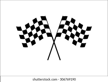 checkered flag images stock photos vectors shutterstock rh shutterstock com checkered flag logo maker online free chequered flag logo