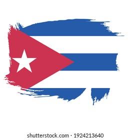 Flag of Cuba - Flag Vector  - Editable flags and maps