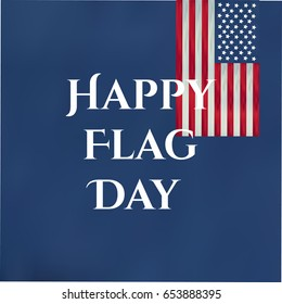 Flag Day background template Vector illustration.