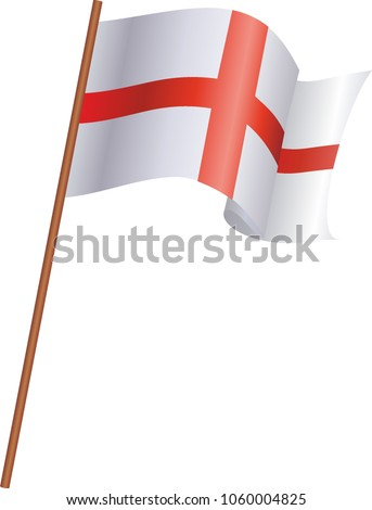 Flag England Stock Vektorgrafik Lizenzfrei 1060004825 Shutterstock