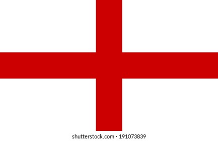 flag england st georges cross accurate stock illustration 191073848