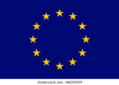 Flag of European.