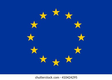 Flag of the European Union - Proper Dimensions