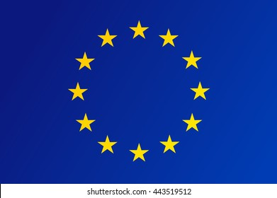 Flag of European Union - vector
