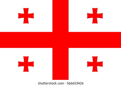 Flag of Georgia.