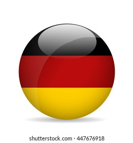 Flag of Germany. Vector illustration