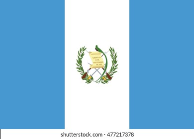 Flag of Guatemala.