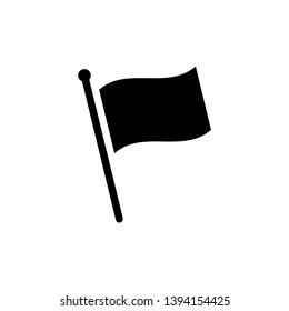 Flag icon vector design template