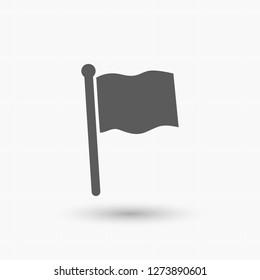 flag  icon. Vector  Eps 10