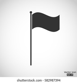 Flag icon - vector  illustration