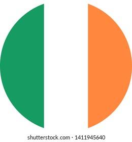flag of ireland illustration vector eps