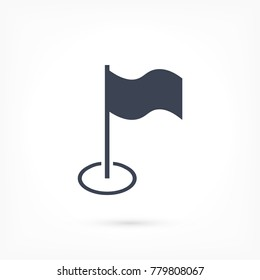 Flag Isolated icon