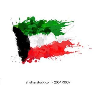 Kuwait Flag Images, Stock Photos & Vectors   Shutterstock