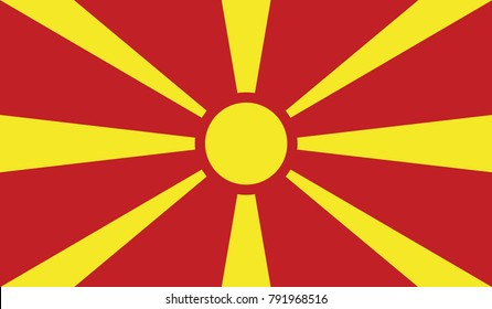 Flag of Macedonia official