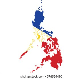 Philippines map images stock photos vectors shutterstock flag map of philippines gumiabroncs Gallery