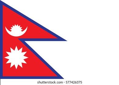 Nepal Flag Images, Stock Photos & Vectors | Shutterstock