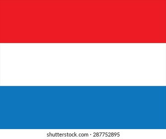 Flag of the Netherlands (Holland) - Variants of the flag have been in use since 1572, and in 1937 the flag was officially formalized as the national flag of the Kingdom of the Netherlands