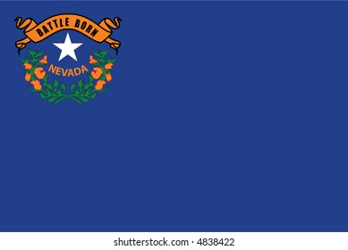 flag of Nevada state