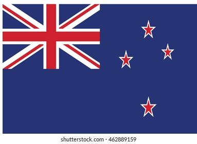flag of New Zealand.